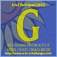 """A-Z 2015 """"G"""""""