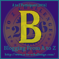 "A-Z 2016 ""B"""