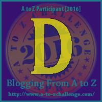 "A-Z 2016 ""D"""