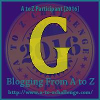 """A-Z 2016 """"G"""""""