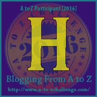 """A-Z 2016 """"H"""""""