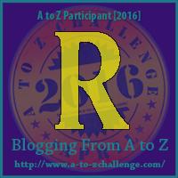 "A-Z 2016 ""R"""