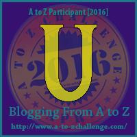 "A-Z 2016 ""U"""