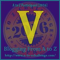 """A-Z 2016 """"V"""""""
