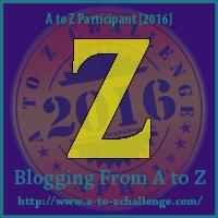 """A-Z 2016 """"Z"""""""