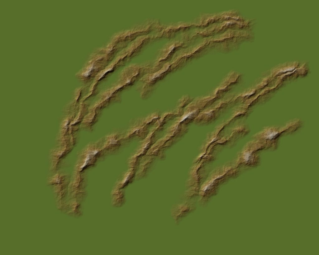 Mapping Landforms 3 Brown 40%