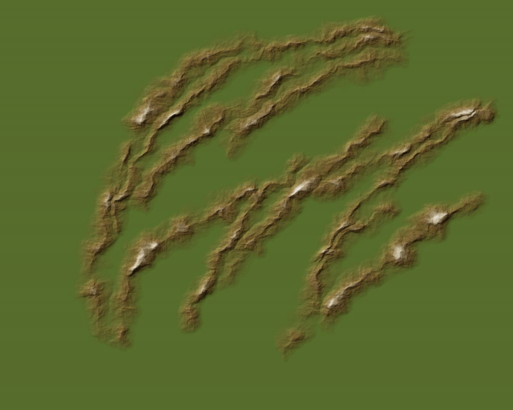 Mapping Landforms 3 Brown 40%, Snow