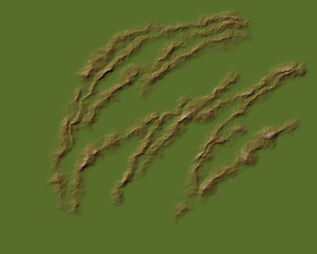 Mapping Landforms 3 Brown 50%