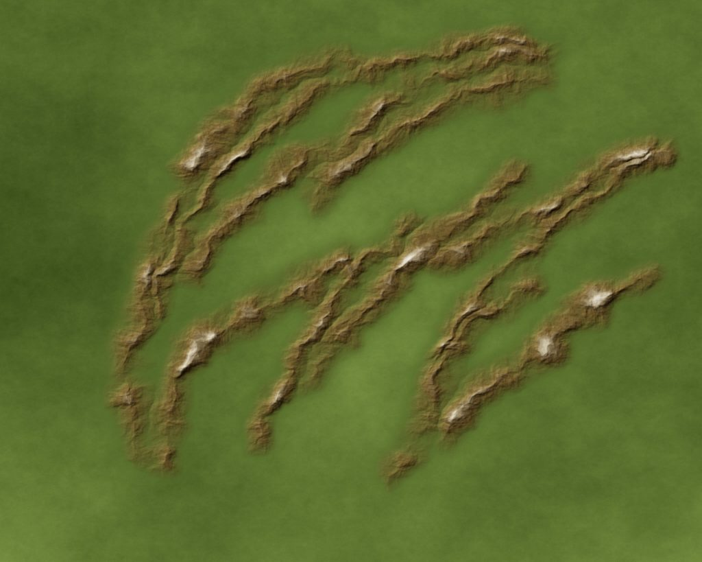 Mapping Landforms 3 Brown 40%, Grass