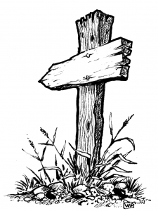 Blank Arrow Sign -- William McAusland