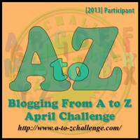 A-Z 2013 Badge
