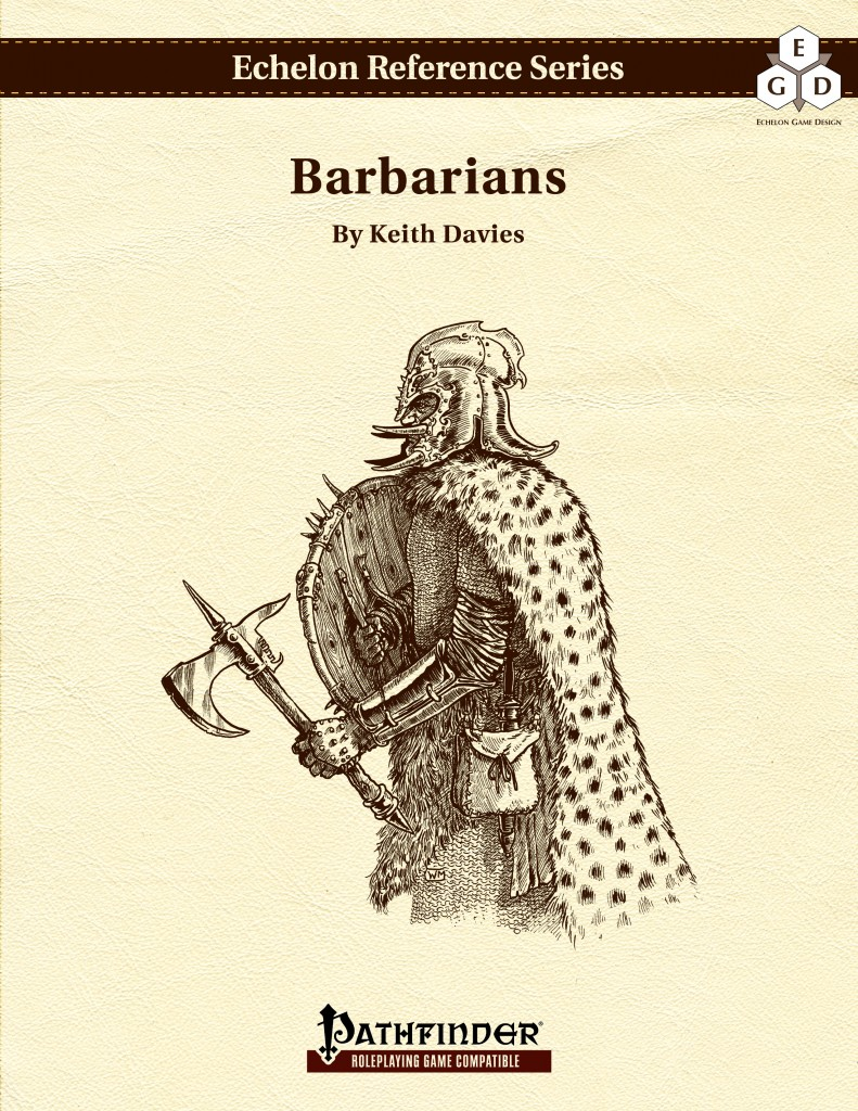 Echelon Reference Series: Barbarians