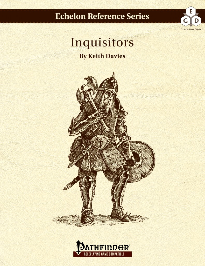 Echelon Reference Series: Inquisitors