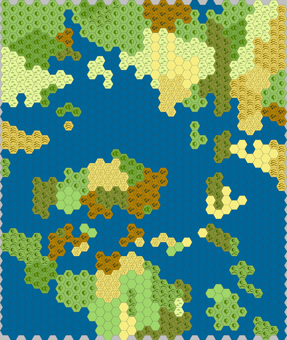 Random Sandbox, Many Islands