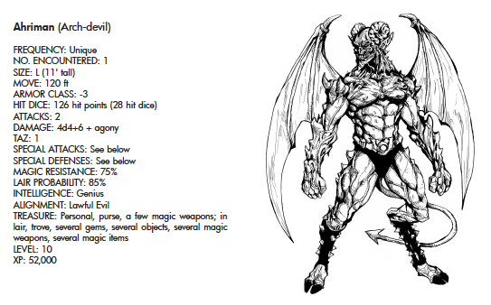 Ahriman (Arch-Devil)