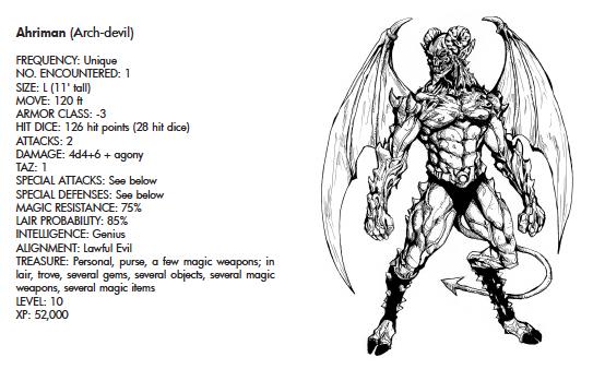 Ahriman (Arch-Devil)