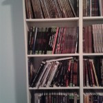 Books - Upstairs shelves, part 1