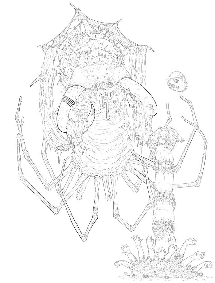 Monstruct (black & white)