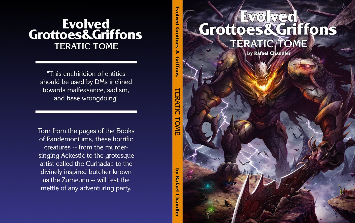 Teratic Tome Full Cover