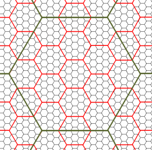 Three-Level Hex Map